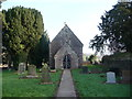 SO4200 : St. John's church at Llangwm Isaf, Monmouthshire by Jeremy Bolwell