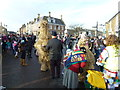 TL2797 : Talking to the bears - Whittlesea Straw Bear Festival 2013 by Richard Humphrey