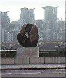 "TQ3078 : ""Locking Piece"", Millbank by Oliver Dixon"