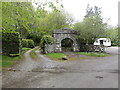 SX7581 : Manaton Gate by Tony Atkin