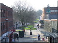 SP3378 : Winter sun in Coventry by Malc McDonald