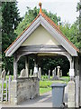 TQ5130 : All Saints Church, Church Road, TN6 - lych gate by Mike Quinn