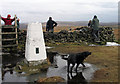 SJ9973 : Trig point of Shining Tor by Trevor Littlewood