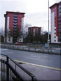 SO9198 : Ring Road Flats by Gordon Griffiths