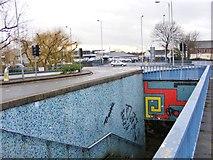 SO9198 : Penn Road Island Underpass by Gordon Griffiths