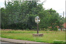 TG1807 : Colney Village Sign by N Chadwick