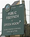 SK2798 : To Green Moor by Dave Pickersgill