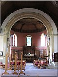 TQ5130 : All Saints Church, Church Road, TN6 - interior by Mike Quinn