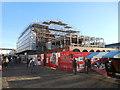 SK3871 : Chesterfield Market Hall refurbishment by Edmund Gooch