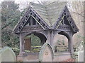 NY9166 : Lych gate at Church of St Michael (Warden) by Les Hull