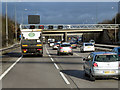 SP1475 : Northbound M42, Variable Speed Limit Signals at Junction 4 by David Dixon