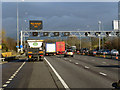 SP1577 : Northbound M42 near Bentley Heath by David Dixon
