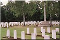 SP4806 : Commonwealth War Graves, Botley Cemetery by Helena Hilton