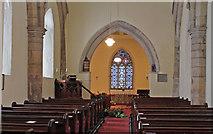 SK9485 : Interior, St Andrew's church, Fillingham by J.Hannan-Briggs