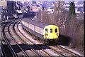 TQ3572 : Train near Forest Hill by Malc McDonald