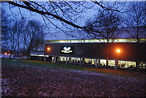TQ7668 : Medway park Leisure Centre by N Chadwick