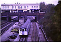 TQ2384 : Underground train leaving Willesden Green by Malc McDonald