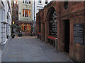 TQ3281 : St Michaels Alley by Roger Jones