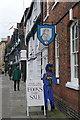 SP2054 : Er, Chaucer?  In Stratford? by Graham Horn
