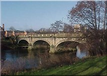 SK3536 : St Mary's Bridge over the River Derwent at Derby by Tim Glover