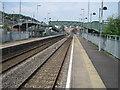 ST0498 : Mountain Ash railway station, Mid Glamorgan by Nigel Thompson