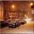 J5081 : Snowfall, Bangor by Rossographer