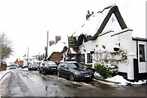 SP7330 : The Old Thatched Inn, Adstock by Philip Jeffrey