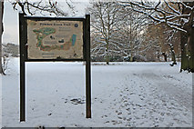TQ2992 : Pymme's Brook Trail, Arnos Park, London N11 by Christine Matthews