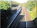 ST1882 : Llanishen railway station, Cardiff by Nigel Thompson