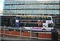SJ8498 : Bus at Shude Hill by N Chadwick