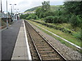 SO1501 : Brithdir railway station by Nigel Thompson