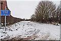 SK8546 : Coach Road, Dry Doddington by J.Hannan-Briggs