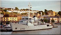 S7127 : French naval boat, New Ross by Albert Bridge