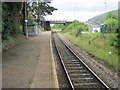 SO1403 : Tir-Phil railway station by Nigel Thompson