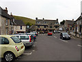 SY9682 : The Square, Corfe Castle by Phil Champion