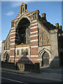 SX9372 : West front of St Peter's Church, Bridge Road by Robin Stott