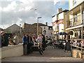 SX9372 : Saturday evening drinks outside the Ship Inn by Robin Stott