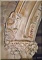 SO7119 : St John, Huntley - Stonework by John Salmon