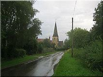 SK8770 : Church Road at Harby by Trevor Rickard