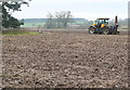 SP1951 : Arable land near Clifford Chambers by Graham Horn