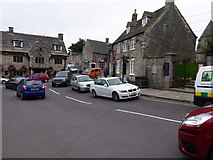 SY9682 : Traffic congestion in Corfe Castle by Phil Champion