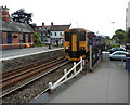 ST5178 : Train from Severn Beach arrives at Avonmouth railway station, Bristol by Jaggery