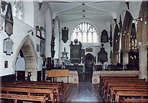 ST7693 : St Mary the Virgin, Wotton-Under-Edge - North aisle by John Salmon