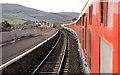 "NX1998 : ""Sealink"" train, Girvan by Albert Bridge"