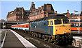 "NS3421 : ""Sealink"" train, Ayr by Albert Bridge"