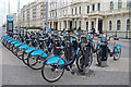 TQ2679 : Bicycles in Exhibition Road, London SW1 by Christine Matthews
