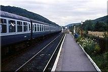 SE8191 : Levisham Railway Station - 1989 by Helmut Zozmann