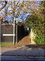 TL1214 : Footpath No.14 to Kirkwick & Longcroft Avenues by Adrian Cable