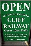 SS7249 : Lynton and Lynmouth Cliff Railway - 1988 by Helmut Zozmann