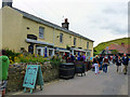 SY8280 : Ice cream parlour and gift shops at Lulworth Cove by Phil Champion
